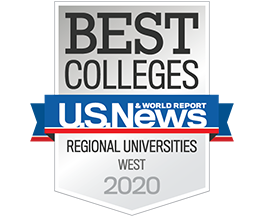 U.S. News & Wolrd Report: Best Colleges / Regional Universities in the West 2020